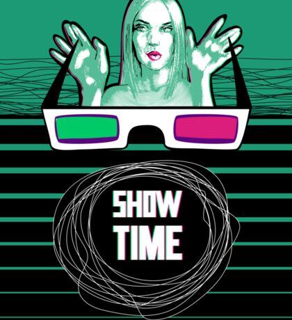 Show time Sticker