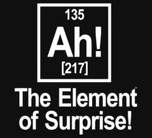 Ah Element Of Suprise Kids Clothes