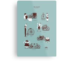 Meet The Cyclists Metal Print