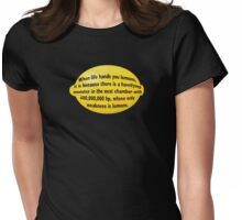 Lemon Womens Fitted T-Shirt