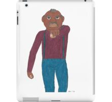 Angry Old Man (Image Only) iPad Case/Skin
