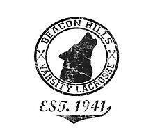 Teen Wolf Beacon Hills Lacrosse Photographic Print