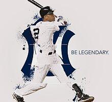 Derek Jeter Be Legendary by jackremason