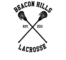 Beacon Hills Lacrosse (Teen Wolf) Photographic Print