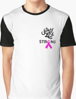 Breast Cancer Awareness Graphic T-Shirt