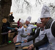 Rehab Parliamentary Pancake Race 2016, by Keith Larby