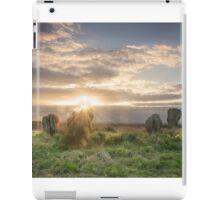 Stone Circle Northumberland iPad Case/Skin