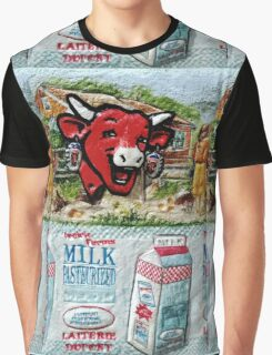 """Exclusive:"""" La Vache qui rit """" """"The Laughing Cow"""" / My Creations Artistic Sculpture Relief fact Main 22  (c)(h) by Olao-Olavia / Okaio Créations Graphic T-Shirt"""