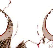 Evangelion Angel Face Sticker
