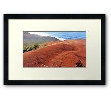 Kalalau Framed Print