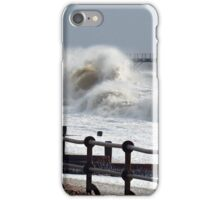 Sea starting to get a bit choppy iPhone Case/Skin
