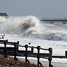 Sea starting to get a bit choppy by Malcolm Chant