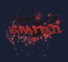 Graffiti theme and abstract background Baby Tee