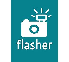 Flasher Photographic Print