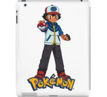 Ash take pokeball - pokemon iPad Case/Skin