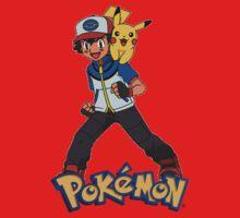 Ash with Pikachu 002 - pokemon by pokofu13