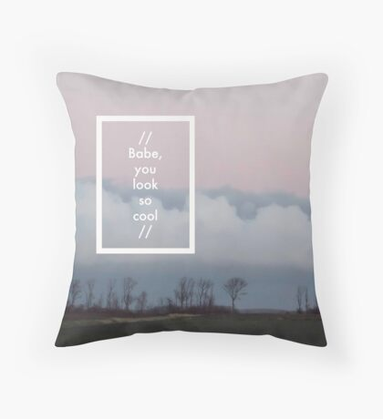 The 1975 - Robbers Throw Pillow