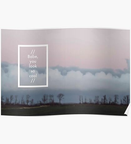 The 1975 - Robbers Poster