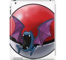 Golbat pokeball - pokemon iPad Case/Skin
