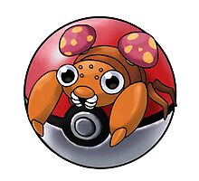 Paras pokeball - pokemon Photographic Print