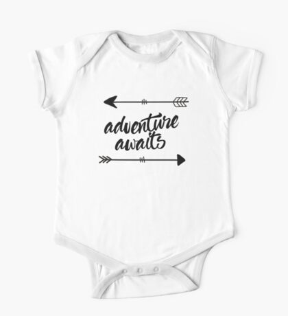Adventure Awaits (arrows) One Piece - Short Sleeve