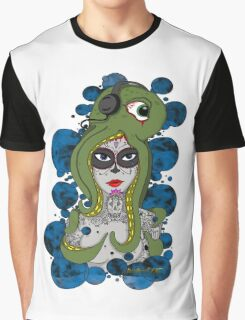 Octo Skull Girl Graphic T-Shirt
