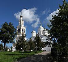 cathedral Spaso-Prilutsky Monastery by mrivserg