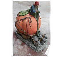 goblin driving pumpkin carriage  Poster