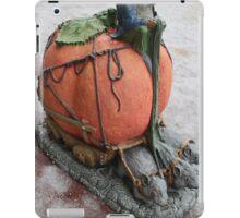 goblin driving pumpkin carriage  iPad Case/Skin