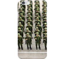 military teamwork iPhone Case/Skin