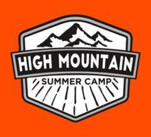 Hight Mountain Summer Camp Kids Tee