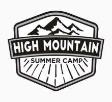 Hight Mountain Summer Camp Kids Tee