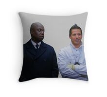 Jake and Holt Two Throw Pillow