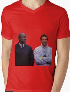 Jake and Holt Two Mens V-Neck T-Shirt