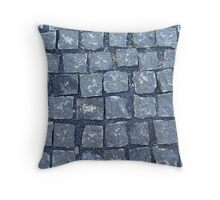 paving stone walkway Throw Pillow
