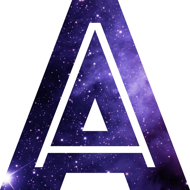 Quot The Letter A Space Quot Stickers By Mike Gallard Redbubble