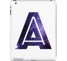 The Letter A - Space iPad Case/Skin
