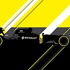 Jolyon Palmer & Kevin Magnussen 2016 Renault RS16 F1 Car  by F1Profiles