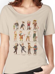 The Twelve Doctors of Christmas Women's Relaxed Fit T-Shirt