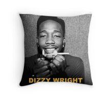 Dizzy Wright 01 TOUR 2016 Throw Pillow