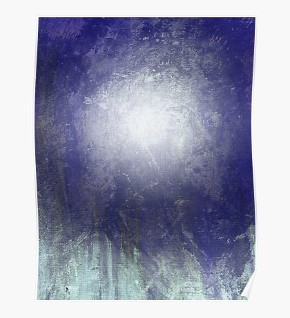 Abstract Moonlight Poster