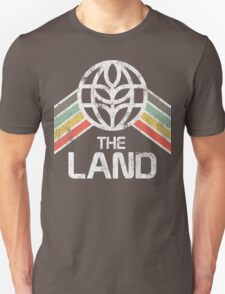 The Land Logo from EPCOT Center in Vintage Distressed Style T-Shirt