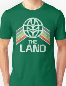 Vintage Distressed The Land Logo from EPCOT Center T-Shirt