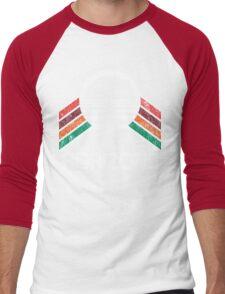 Vintage Horizons Distressed Logo in Vintage Retro Style Men's Baseball ¾ T-Shirt