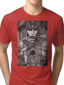 The 'Blind' King Tri-blend T-Shirt