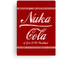 Nuka Cola Canvas Print