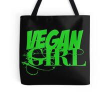 Vegan Girl Edge Tote Bag
