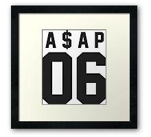 A$AP 06 Framed Print