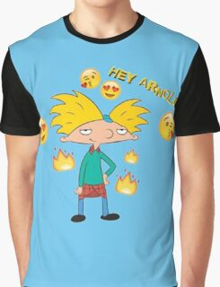 hey arnold Graphic T-Shirt