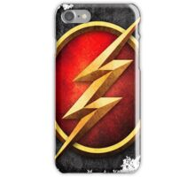 flash thunder iPhone Case/Skin